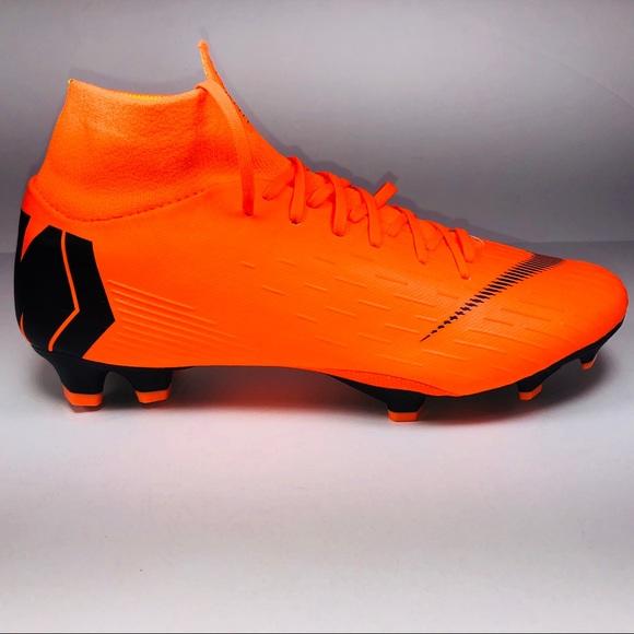 f5cd136b1 Nike Mercurial Superfly 6 Pro FG Orange Cleats
